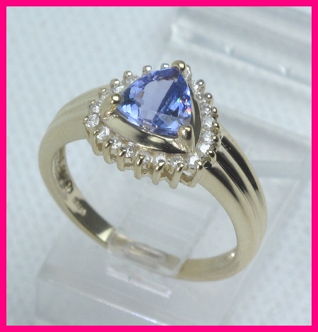 kB · jpeg, 14kyg Diamond Tanzanite Cocktail Ring 1 07 Carats | eBay