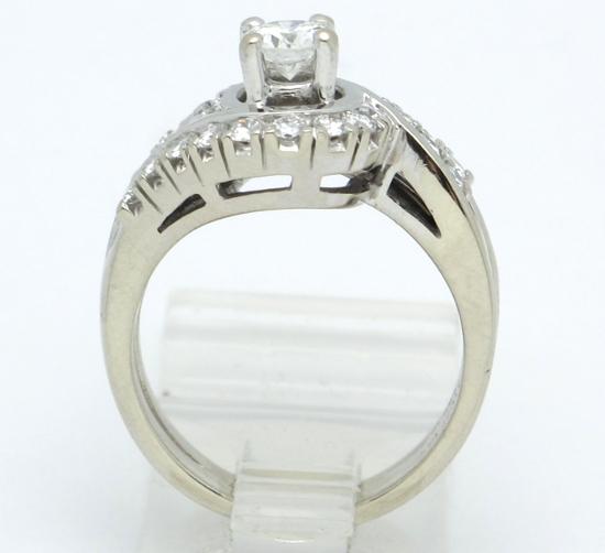 14k white gold vs engagement wedding ring